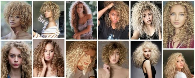 Blonde Curly Hair Ideas Best Nice Look for Short & Long Hairstyles *** 2021 Best Hairstyles Curly Hairstyle