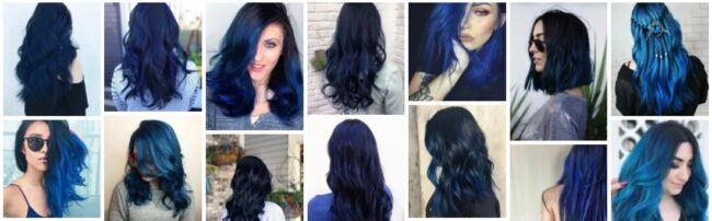 Dark Blue Hair Dye Ideas That Will Change Your Look in 2021 Hairstyle