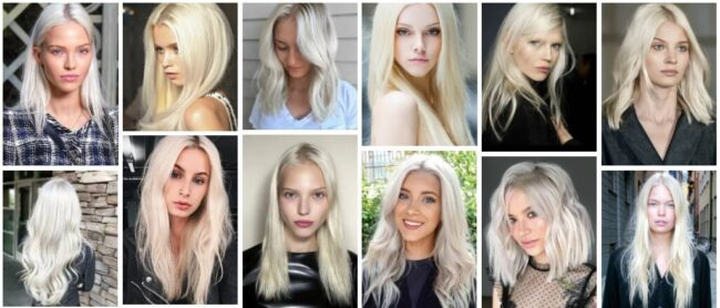 Platinum Blonde Hair Color Ideas for Long Hair **2021 Inspirational Hairstyles Hairstyle