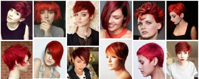 Short Red Hairstyle Ideas & Short Red Hair Wig Trends ***2021 Hairstyles That Will Show Your Fire Short Hairstyle