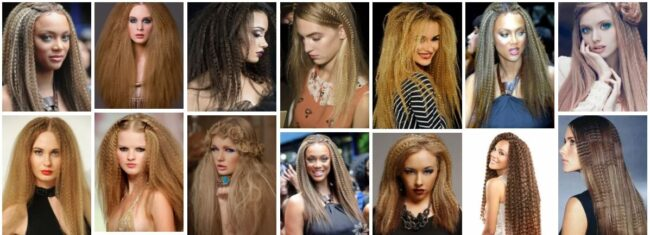 Crimped Hair Ideas for Medium Hair in 2021 *Best Crimped Hairstyles Women Hairstyle