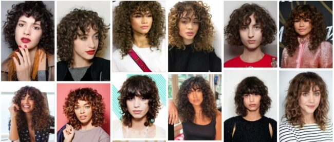 Curly Bangs Ideas for Short Hair ***2021 Stunning Bangs Curly Hair Curly Hairstyle
