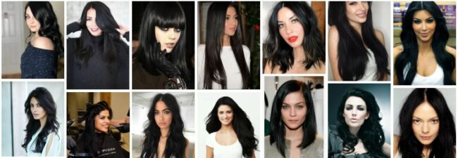 Jet Black Hair Color On Brown Skin **2021 Amazing Hairstyles Ideas & Pictures Hairstyle