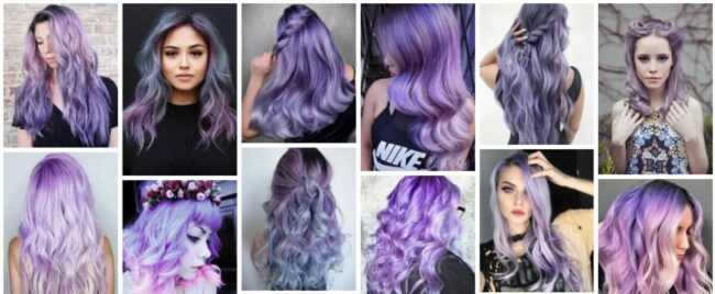 Lavender Hair Color Ideas for Women and Trend 2021 Stunning Smokey Lavender Hairstyles Long Hairstyle