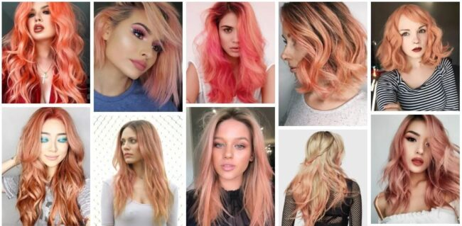 Peach Hair Color Ideas for Best Hairstyle Formula **2021 Perfect Peach Hairstyles Hairstyle