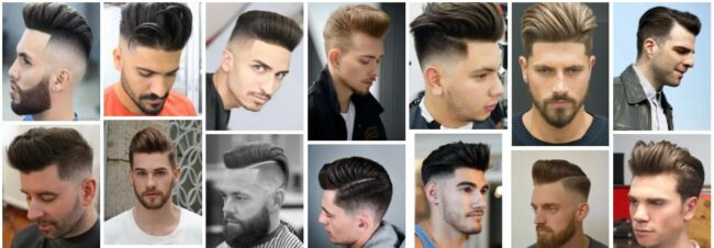 Pompadour Fades for Choose the Right Hairstyle **Men in 2021 Men Hairstyle