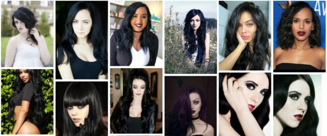 Raven Hair Color & Ultime Raven Hair Dye Permanent Ideas **2021 Raven Black Hairstyles Long Hairstyle