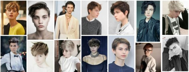 Androgynous Haircuts for Thick Curly Hair *2021 New Short Haircuts Short Hairstyle