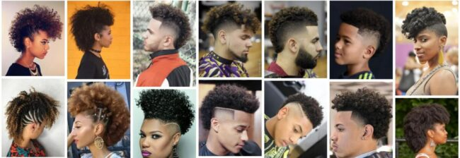 Curly Mohawk Hairstyles for Black Hair Ideas **2021 Trend Curly Mohawk Wigs Curly Hairstyle