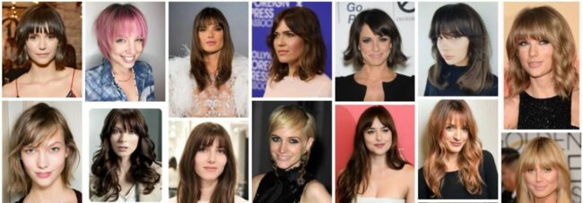 Feathered Bangs Black Hairstyle Ideas for Long Hair *2021 Perfect Feathered Side Bangs Long Hairstyle