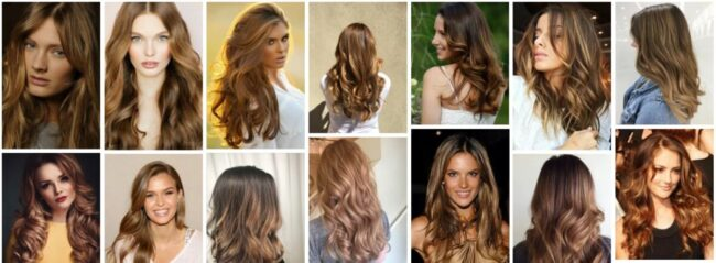 Honey Brown Hair Color With Highlights Ideas & Honey Brown Hair Dye Semi Permanent **2021 New Hair Design Women Hairstyle