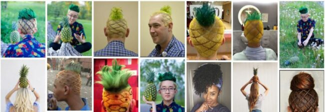 Pineapple Hairstyles for Natural Hair **2021 Short Pineapple Haircut Short Hairstyle