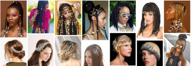 Braided Hairstyles for Little Black Girl With Short Hair *2021 DIY Beaded Hair Bands Women Hairstyle