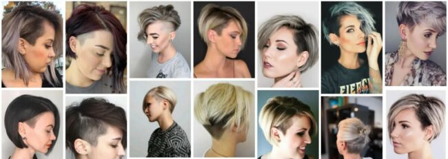 Bob With Undercut for Thick Hair **2021 Amazing Short Bob With Undercut Bob Frisuren