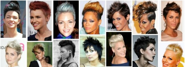 Faux Hawk Women Long Hairstyle Ideas for Curly Hair **2021 Trends Faux Hawk Black Women Hairstyle Curly Hairstyle