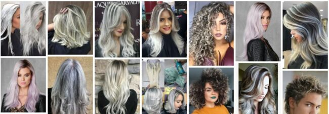 Frosted Hair Color Ideas for Dark Hair With Gray ***2021 Best Short Frosted Hairstyles Short Hairstyle