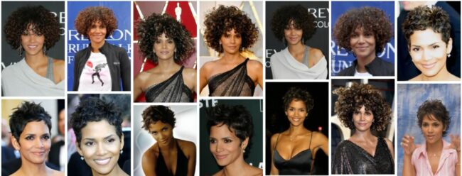 Halle Berry Short Hairstyles On Curly Hairstyle **2021 Attractive Halle Berry Short Haircut Bob Frisuren