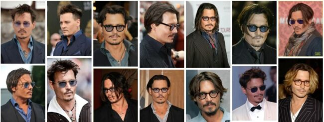 Johnny Depp Hairstyle 90s for Long Hair ***2021 Classic Johnny Depp Haircut Men Hairstyle