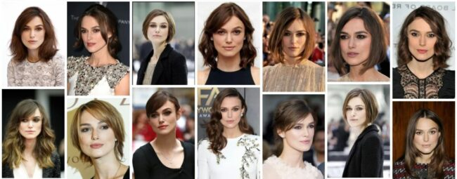 Keira Knightley Hairstyles for Short Hair *2021 Trend Keira Knightley Pixie Hairstyle Bob Frisuren
