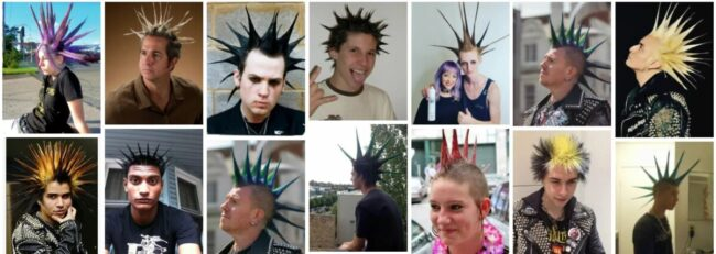 Liberty Spikes Hairstyle for Long Hair **2021 New Liberty Spikes Mohawk Hairstyles Men Hairstyle