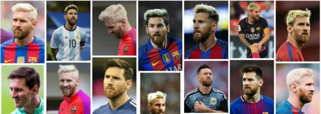 Lionel Messi Blonde Haircuts Ideas for Men Hairstyle ***2021 Uptade Lionel Messi White Hairstyle Men Hairstyle