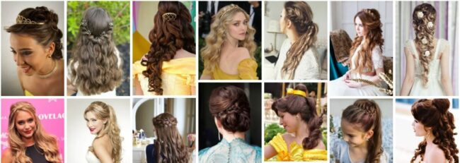 Princess Hairstyles for Long Hair *2021 Trend Princess Jasmine Hairstyles Long Hairstyle