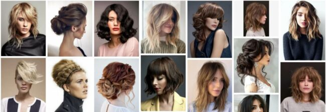 Ruffled Layers Hairstyle With Blonde Highlights ***2021 New Ruffled Layers Short Hair Bob Frisuren