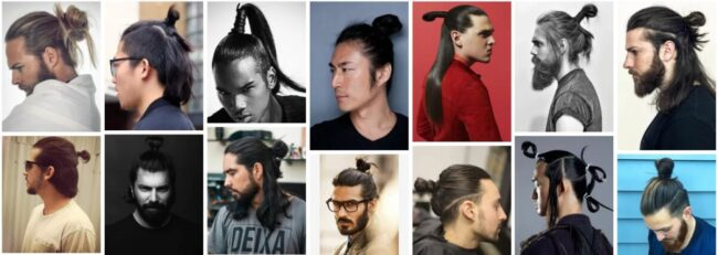 Japanese Samurai Hairstyle for Guys Hair ***2021 Classic Modern Samurai Haircut Men Hairstyle
