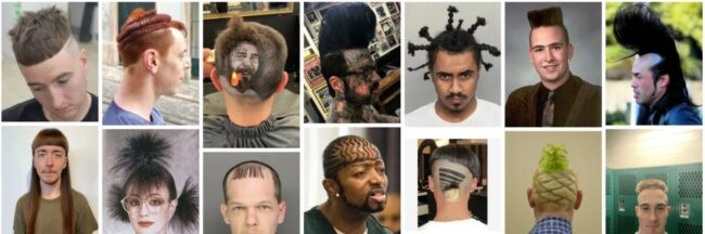 Worst Haircuts of All Time for Guys Hair **2021 Bad Worst Men's Haircuts Short Hairstyle