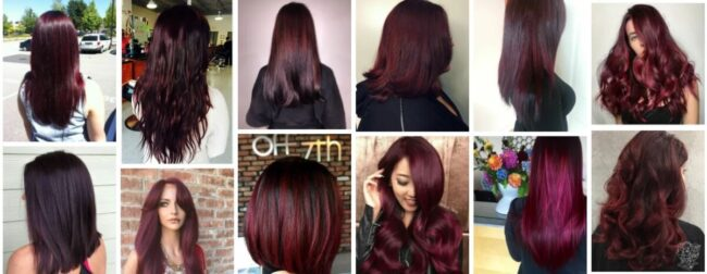 Black Cherry Hair Color Ideas for Sexy Women Hair ***2021 Trend Dark Black Cherry Hairstyles Women Hairstyle