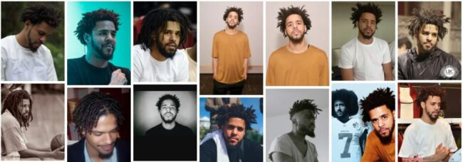 J Cole Hair Ideas for Short Hairstyle **2021 New J Cole Short Hair Men Hairstyle