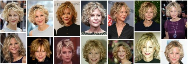 Meg Ryan Hairstyles Ideas for Short Hair *2021 New Meg Ryan Haircuts Curly Hairstyle