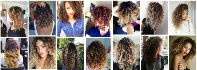Balayage Curly Hair Blonde Ideas *Try in 2021 Curly Hairstyle