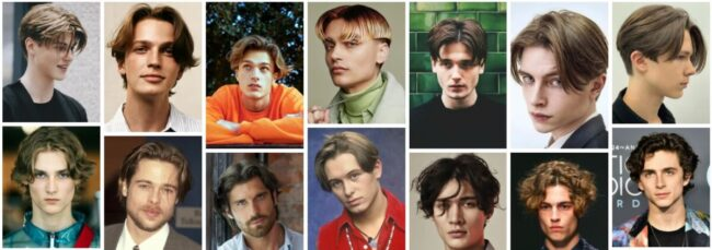 Curtain Haircut for Male With Fade **2021 Trend Hairstyles Short Men Hairstyle
