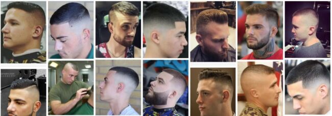 Marine Haircut Styles Ideas for Men Hairstyle *2021 Awesome Marine Mohawk Haircut Short Men Hairstyle