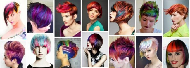 Multi Colored Hair Ideas for Women Hair ***2021 Trend Hairstyles Hairstyle
