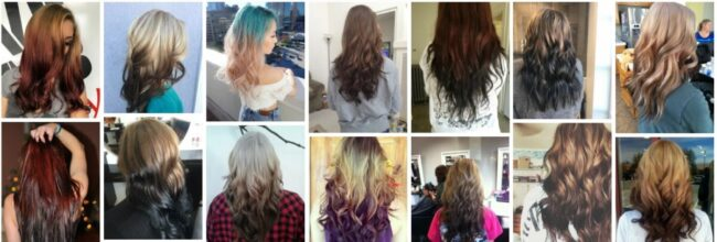 Reverse Ombre Hair Color Ideas **2021 New Hair Design Hairstyle