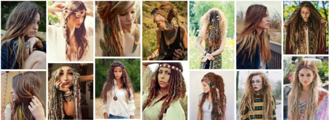Hippie Hairstyles Ideas for Long Hair *2021 Lovely 70s Hippie Hairstyles Curly Hairstyle
