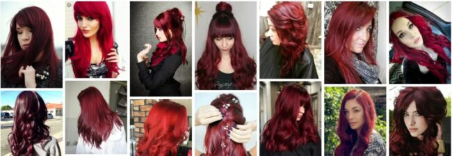 Cherry Red Hair Color Ideas for Women Hair **2021 Trend Deep Cherry Red Hairstyles Women Hairstyle
