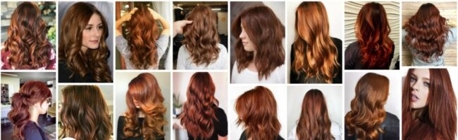 Copper Brown Hair Color Ideas for Balayage Hair *2021 Trend Light Copper Brown Hairstyles Women Hairstyle