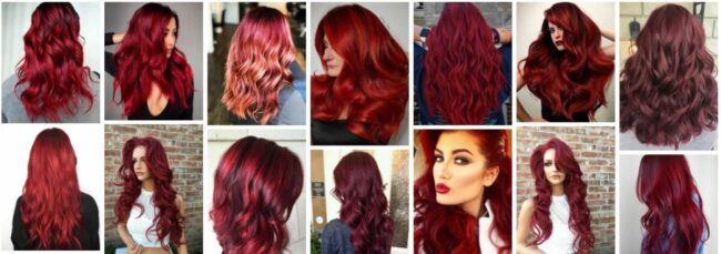 Crimson Red Hair Color On Natural Hair *2021 New Dark Crimson Red Hairstyles Hairstyle
