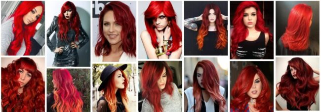 Fiery Red Hair Color Ideas for Women Hair ***2021 Attractive Fiery Red Hair Dye Women Hairstyle
