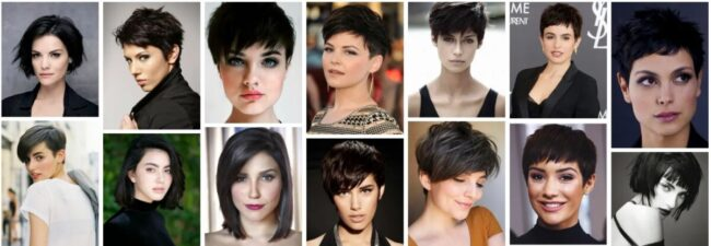 Short Dark Hair With Highlights and Lowlights ** Best Short Dark Hair Balayage Short Hairstyle
