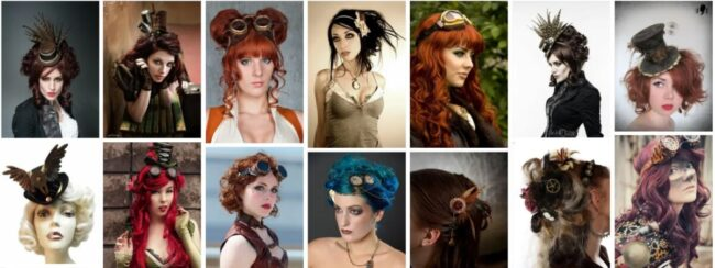 Steampunk Hairstyles for Long Hair *2021 New Design Hairstyles Long Hairstyle