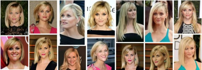 Reese Witherspoon Hair Color Ideas for Dark Hair **2021 Trend Reese Witherspoon Short Haircuts Bob Frisuren