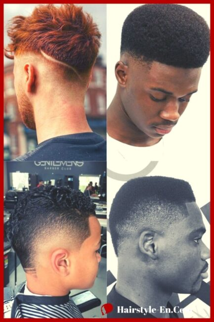 Burst Fade Haircut Ideas Trend in 2021 Men Hairstyle